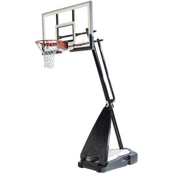 spalding hybrid portable basketball goal 71564 54 in. Black Bedroom Furniture Sets. Home Design Ideas