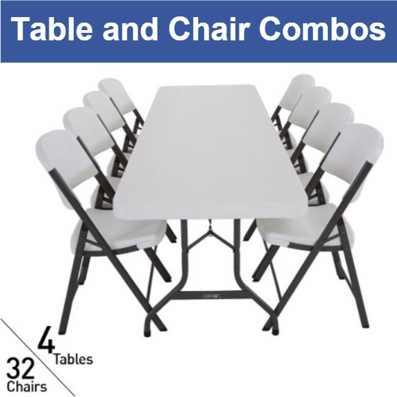 Table and Chair Packages