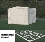 Duramax DuraMate 8x6 Shed and Foundation