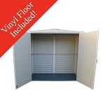 Duramax Yard Mate 00982 5x3 Vinyl Shed with Floor