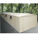 Duramax Vinyl Garage 10x28 with Foundation