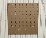 Lifetime Outdoor Storage Accessory 0170 Peg Board Kit for 8' Sheds