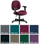 Office Chairs - 105-aa Adjustable Computer Task Chair with Arms