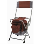 Anywhere Folding Chair with Food and Drink Cooler