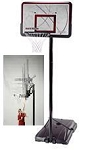 SO Lifetime 1515 Courtside 44 Quick Adjust II Portable Hoop Basketball