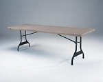 SO 2780 4 PACK Lifetime (4 PACK) Advantage 8 ft Putty Folding Table