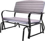 Lifetime Glider Bench - 2871 Putty Color Outdoor Furniture 4 ft. Swing