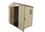 DuraMax 8 x 5.5 Vinyl Shed with Foundation Kit