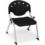 4 OFM 305-12 Rico 12 in Height Student Size Plastic Stacking Chairs