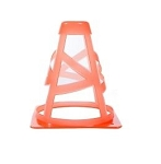 Exercise Equipment - Power Systems Collapsible Cone 6 In.