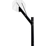 Spalding Basketball Accessories 309 4-inch Square Pole Fixed Height