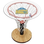 NBA Basketball Acrylic Sports Table with Denver Nuggets Logo