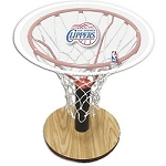 NBA Basketball Acrylic Sports Table with Los Angeles Clippers Logo
