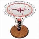 NBA Basketball Acrylic Sports Table with Houston Rockets Logo