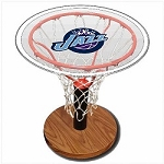 NBA Basketball Acrylic Sports Table with Utah Jazz Logo