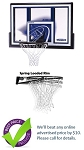 Lifetime Basketball Backboard Rim Combo 3279 Shatter Guard 48-in