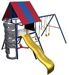 SO Big Stuff 357001 357000 3 Swing Play set Primary Colors Large Deck