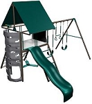 SO Big Stuff 367001/367000 Play set Earth tone Large Deck 3 Swing Set