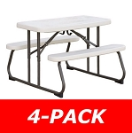 Lifetime Kids Picnic Table - 480094 Folding Picnic Tables...