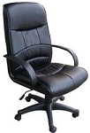 Ofm 508-Lx Leatherette Mid-Back Office Chair
