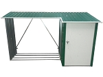 WoodStore Combo in Green or Anthracite with Off-White Trim