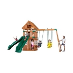 Backyard Discovery 54233com Outing Wooden Playground Playset