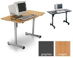 OFM 55111 Linea Italia 24 X 48 Multi use Modular Table Computer Desk