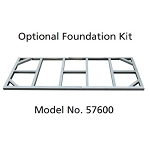 Duramax 57600 Foundation Kit for 8' x 4' for Pent Roof Metal Sheds