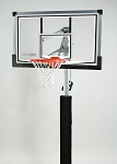 SO Reebok 59971 In-Ground Glass Backboard Basketball Hoop Goal System