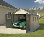 Lifetime Storage Building - 60025 11x18.5 ft. Garage Shed