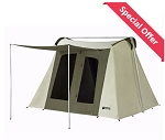 Kodiak Canvas Tent 6010 10x10 ft. Deluxe with Free Ground Tarp