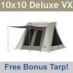 Super Deluxe Kodiak Canvas Tent VX Series 10x10 + Tarp (6...