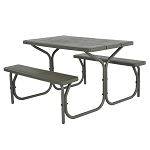 Lifetime Picnic Table Brown 60135 4-Ft Plastic Top With Folding Frame