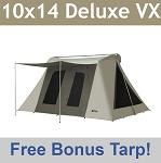 Super Deluxe Kodiak Canvas Tent 6041VX 10x14 (with tarp 6...