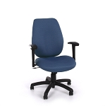 Ofm 611 Ergonomic Executive Conference Fabric Chair + Adjustable Arms