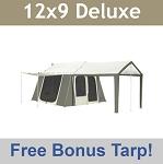 Bright Path Kodiak Canvas Tent 6133 6 Person 9 x 12 ft. w...