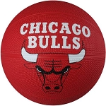 Spalding 65-534E Chicago Bulls NBA Rubber Team Basketball