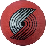Spalding 65-552E Portland Trailblazers Mini Rubber Basketball