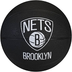 Spalding 65-960E Brooklyn Nets NBA Team Mini Rubber Basketball
