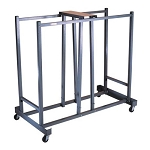 Lifetime Folding Chair Cart 6525 Storage Rack