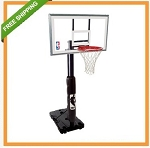 Portable Basketball Hoop System 68395R Basketball Goal 54-in Backboard
