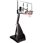 68562 Spalding Portable Basketball Goals 60 inch Acrylic Backboard