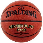 Women's Ball Spalding Never Flat Basketball 74-097E 28.5