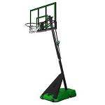 Spalding Hercules Portable Basketball 75749 52 Backboard Green Base