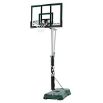 Spalding Hercules Basketball 52 Acrylic Backboard Green Portable Base