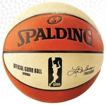 WNBA OFFICIAL GAME BALL - Spalding 76008 Microfiber