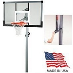 Lifetime Basketball System - 79972 54 inch Backboard In-Ground System