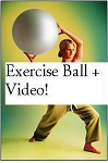 SO Stretch Ab Back Yoga w Video Exercise Ball Exercise Equipment
