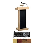 Oklahoma Sound Orator 800X Standard Height Sound Lectern Free Shipping
