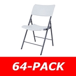 80263 Lifetime Contemporary Light Duty Chair 64-Pack